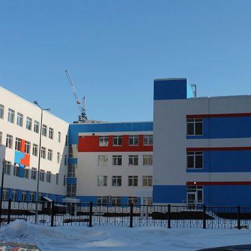 Школа на 1135 учебных мест в 17 микрорайоне